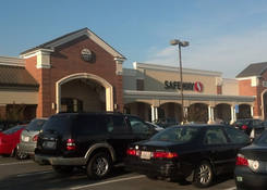 Belle View Shopping Center: New Safeway facade after renovations