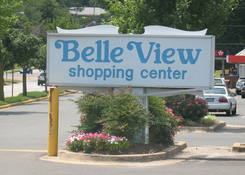 Belle View Shopping Center: Belle View Pylon Sign