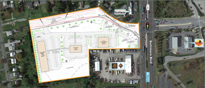 8 Acre Westminster Retail Development